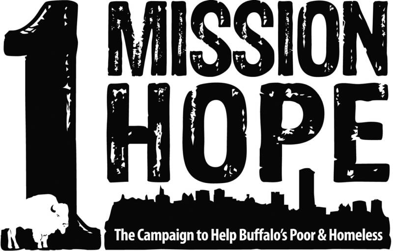 The Campaign to Help Buffalo's Poor and HomelessEverday, Buffalo City Mission has the privilege of offering someone hope through a hot meal that's been provided by friends like you. Because this ministry of meals is so important -- so critical in reaching hurting lives -- the Mission is launching the One Mission...One Hope campaign. The goal is to feed Buffalo's homeless and hungry people for the holidays. www.eriebasinmarina.org
